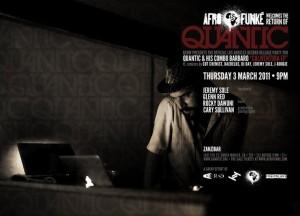 AFRO FUNKE' & KCRW Present QUANTIC