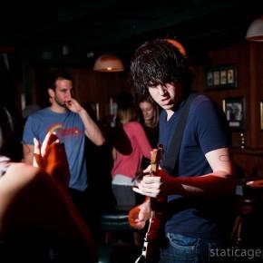 Night on Fire at O'Brien's Irish Pub (March 8, 2011) © Michael Kang