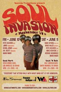 Soul Invasion IV Weekender - Los Angeles