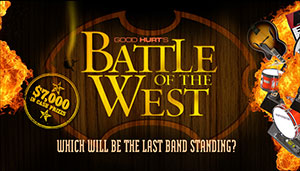 Good Hurt's Battle of the West. Over $7,000 in cash prizes.