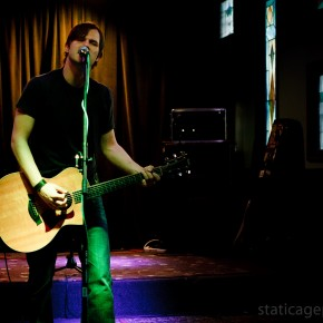 Nate Hertweck of Razorface at Brennan's Pub. June 1, 2011