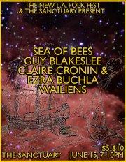 Jun 15: Sea of Bees at The Sanctuary