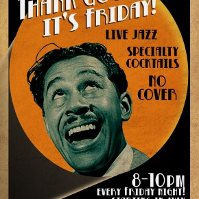 Thank Goodness It's Friday! Live Jazz Every Friday at Del Monte Speakeasy