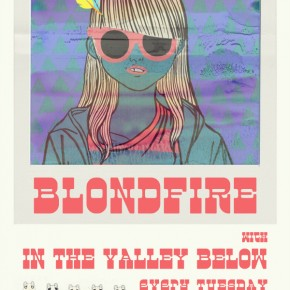July 10, 2012: Blondfire with In the Valley Below July Residency Begins at the Central
