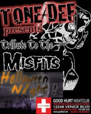 Oct 31, 2012: Halloween Night - Tribute to the Misfits and Black Sabbath